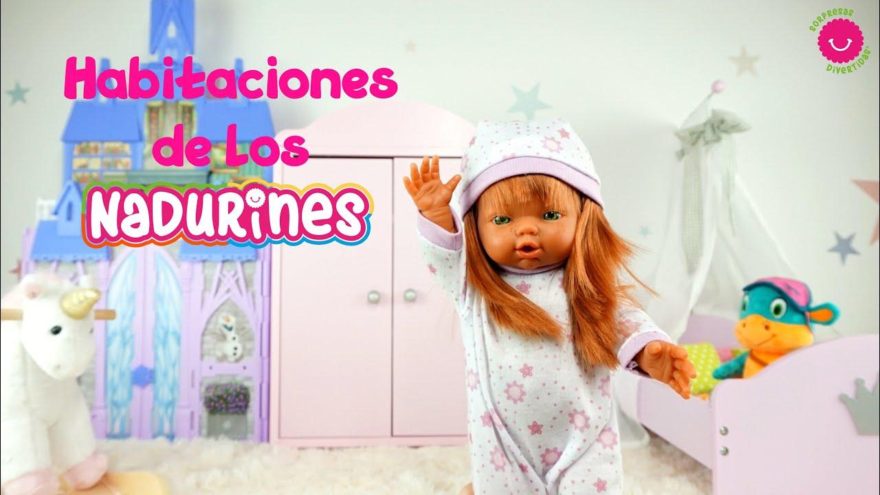 ¿Cómo son las habitaciones de las muñecas Nadurines?