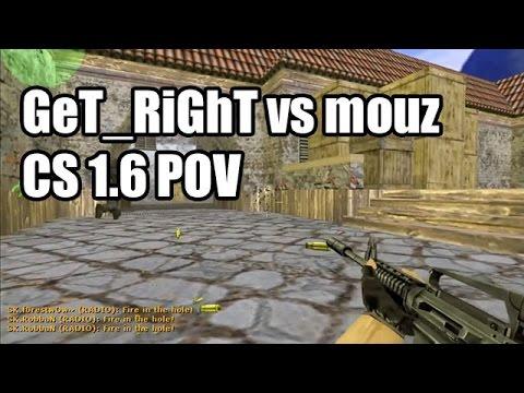 POV: GeT_RiGhT Vs. Mousesports @IEM 5 SK CS 1.6 Demo