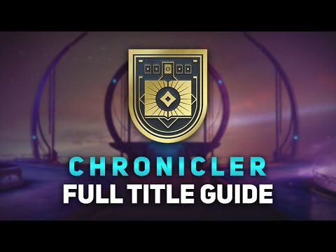 Destiny 2 Chronicler Title Full Guide! - Easiest Way to Get All Lore & Truth to Power Faster thumbnail