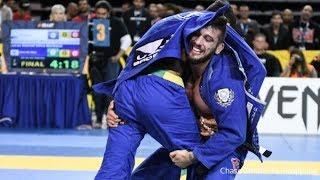 Lucas Barbosa VS Patrick Gaudio 2017 IBJJF Pan Championship