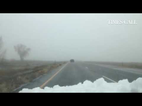 Video: Foggy drive to #Longmont on the Diagonal Highway #cowx #cotraffic