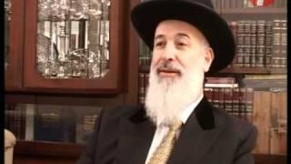 Chief Rabbi Metzger Speaks About Rabbi Elyashiv