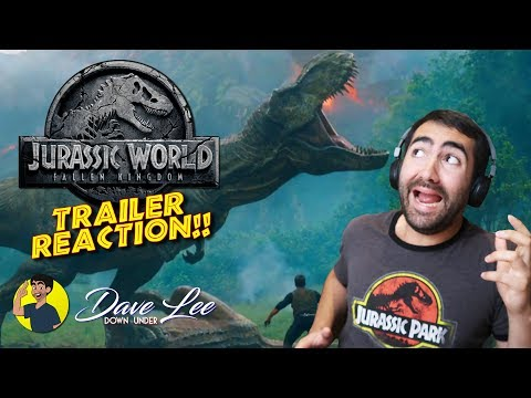 JURASSIC WORLD: FALLEN KINGDOM - Trailer Reaction