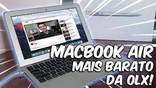 O MacBook Air MAIS BARATO da OLX! Vale a pena MacBook Air usado?