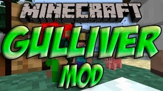 Minecraft 1.5.2/1.5.1 - Como Instalar GULLIVER MOD MOD - ESPAÑOL [HD] 1080p