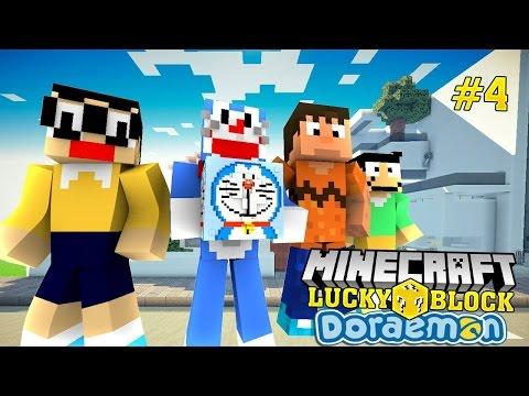Oops Club Minecraft Lucky Block Challenge - Tập 4: BẢO BỐI CỦA DORAEMON
