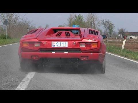 180+ Supercars Accelerating  EB110 GT, Huracan, Carrera GT, 599 GTO & More