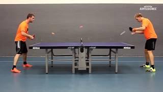 Удивительные навыки и хитрости пинг понга