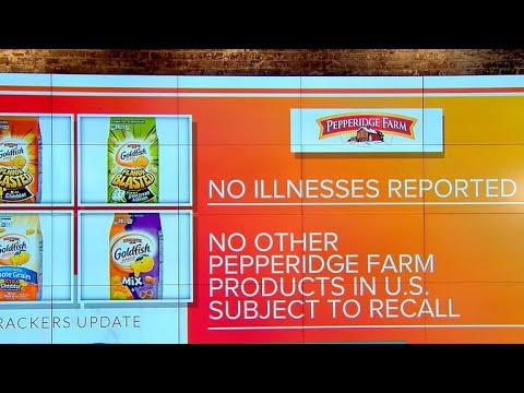 Pepperidge Farm Recalls More Than 3 Million Packages Of Goldfish