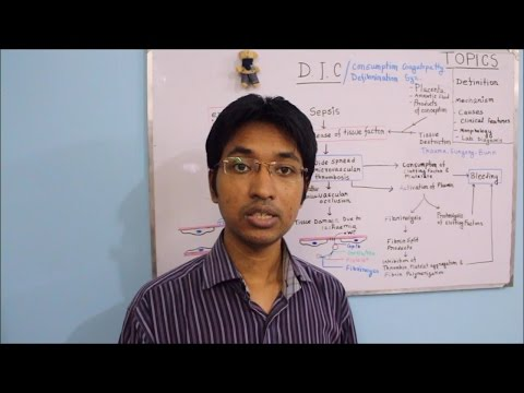 DIC : Disseminated Intravascular Coagulation (HD)