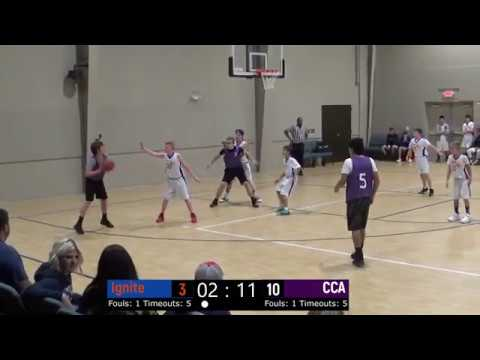 Ignite VS Carter Christian Academy (Middle School)