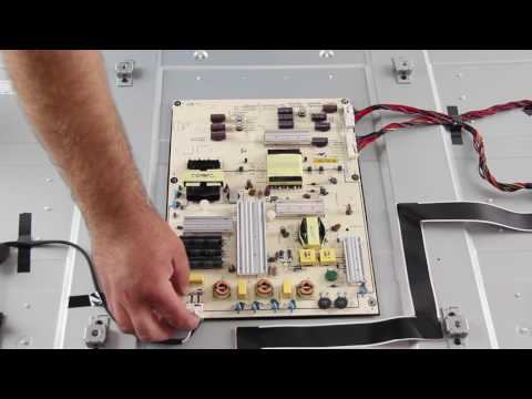 Vizio E700I-B3 Board Replacement Tutorial - How to Replace the Main, Power Supply and T-con Board