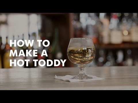How to Make a Hot Toddy with Will Diemer