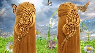 Trendy Hairstyle For PARTY, WEDDING, FUNCTION 🌿 Hair style girl 🎋 Beautiful Hairstyles for girls