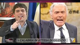 """Massimo Giletti Furioso Contro Marco Polimeni: """"mi Sono Rotto Le Palle, Pulitevi La Bocca Prima ..."""