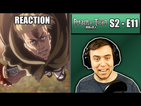Rich Reaction - Attack On Titan Season 2 Episode 11 - Erwin Is Crazy!