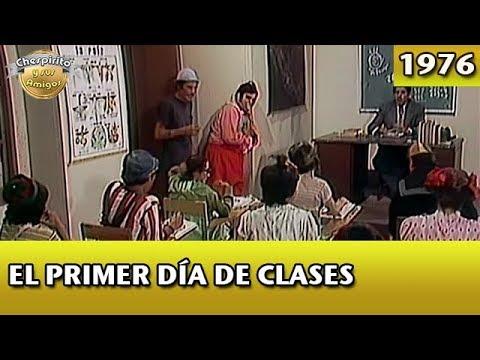 El Chavo | El primer día clases (Completo)