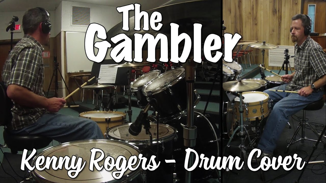 Kenny Rogers - The Gambler Drum Cover (with brushes intro)