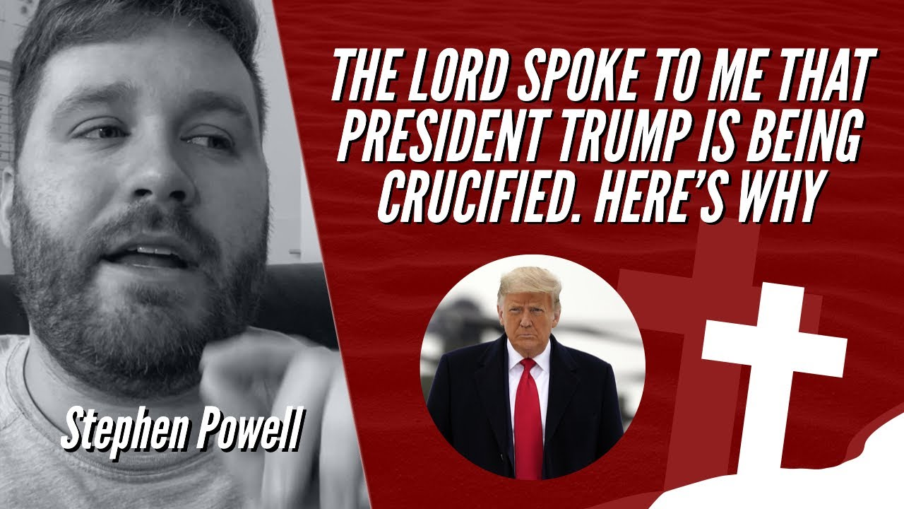 THE LORD SPOKE TO ME THAT PRESIDENT TRUMP IS BEING CRUCIFIED. HERE'S WHY