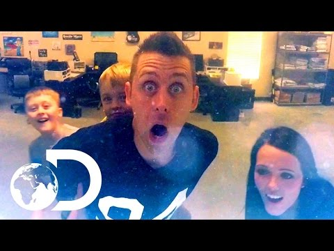 Building Roman Atwood's Tank & Pranking The General!  Tanked