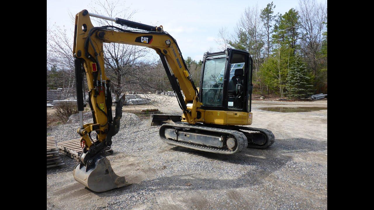 how to proper mini excavator track tension youtube rh youtube com Cat 304 Mini Excavator Specs 304 5 Cat Excavator 2001