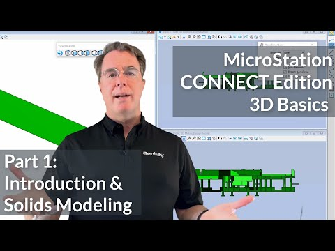 01 MicroStation CONNECT Edition 3D Basics - Introduction & Solids