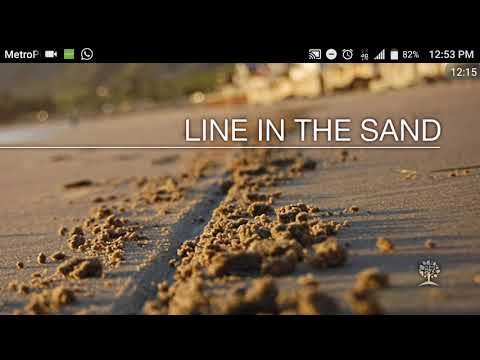 The LORD Is 'Drawing A Line In The Sand' in 2018!