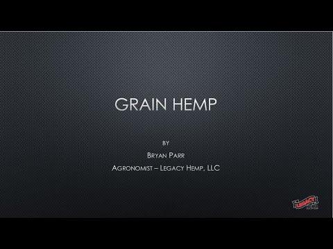 Industrial Hemp Grain Production