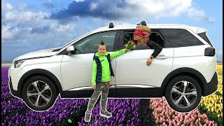 Surprise Mommy for Mother's Day | Timko and Papa Ride on Cars