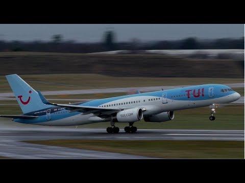 Soaking Wet Plane Spotting at Birmingham Airport | 29/12/2017