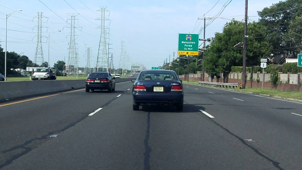 Us 1 New Jersey Garden State Parkway To I 287 Southbound Youtube