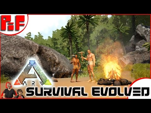 🆕  New Series! 🆕 Gabriel's Island S1 Ep1  Family & Kid Friendly -Ark Survival Evolved Part 1