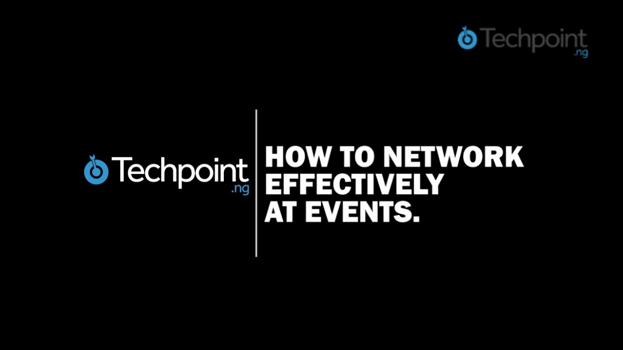 how to network effectively at events