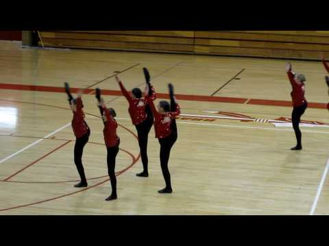 BHS 1st place Drill Team Military Routine 2010