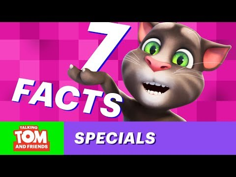 Seven Amazing Facts You Don't Know About Talking Tom and Friends