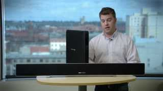 Harman Kardon Sabre SB35 sound bar hands on