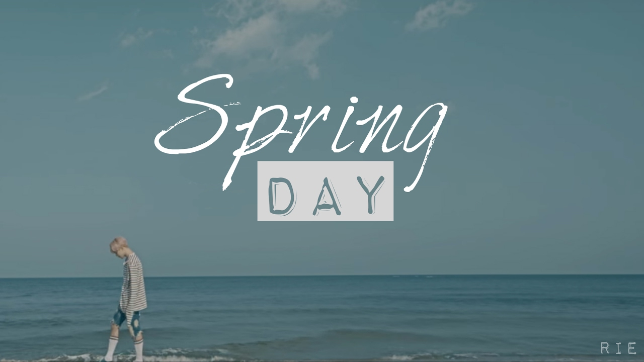 Bts Hd Wallpaper Desktop Bts Spring Day Quot Teaser Quot Audio Youtube