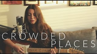 BANKS - Crowded Places Live Acoustic Cover (LO Cover)