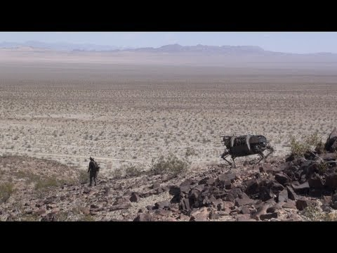 Legged Robot Testing in Desert