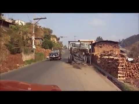 Viaje en carretera de Joyabaj a Ciudad de Guatemala.