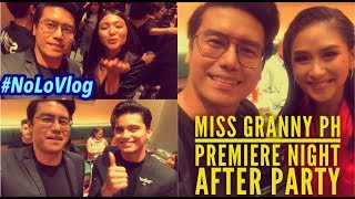 JADINE GREETS INDONESIA | SARAH G GREETS POPSTERS | MISS GRANNY PH PREMIERE NIGHT AFTER PARTY