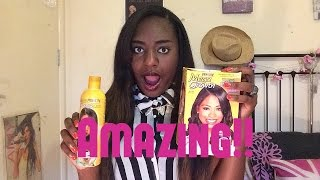 The Best Hair Relaxer and Hair Products For Afro Hair | ChristineDoesDrama