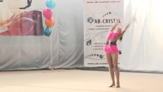 Художественная гимнастика [Гавриленко Даяна 9 лет]