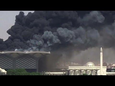 Incêndio em estação de alta velocidade na Arábia Saudita