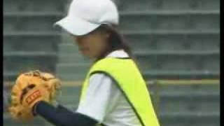 吉田えり 投球フォーム 動画 女子高生 16歳 プロ野球