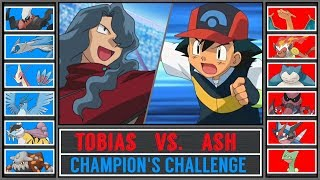 Best Ash vs. Tobias (Pokémon Sun/Moon) - Champion's Challenge