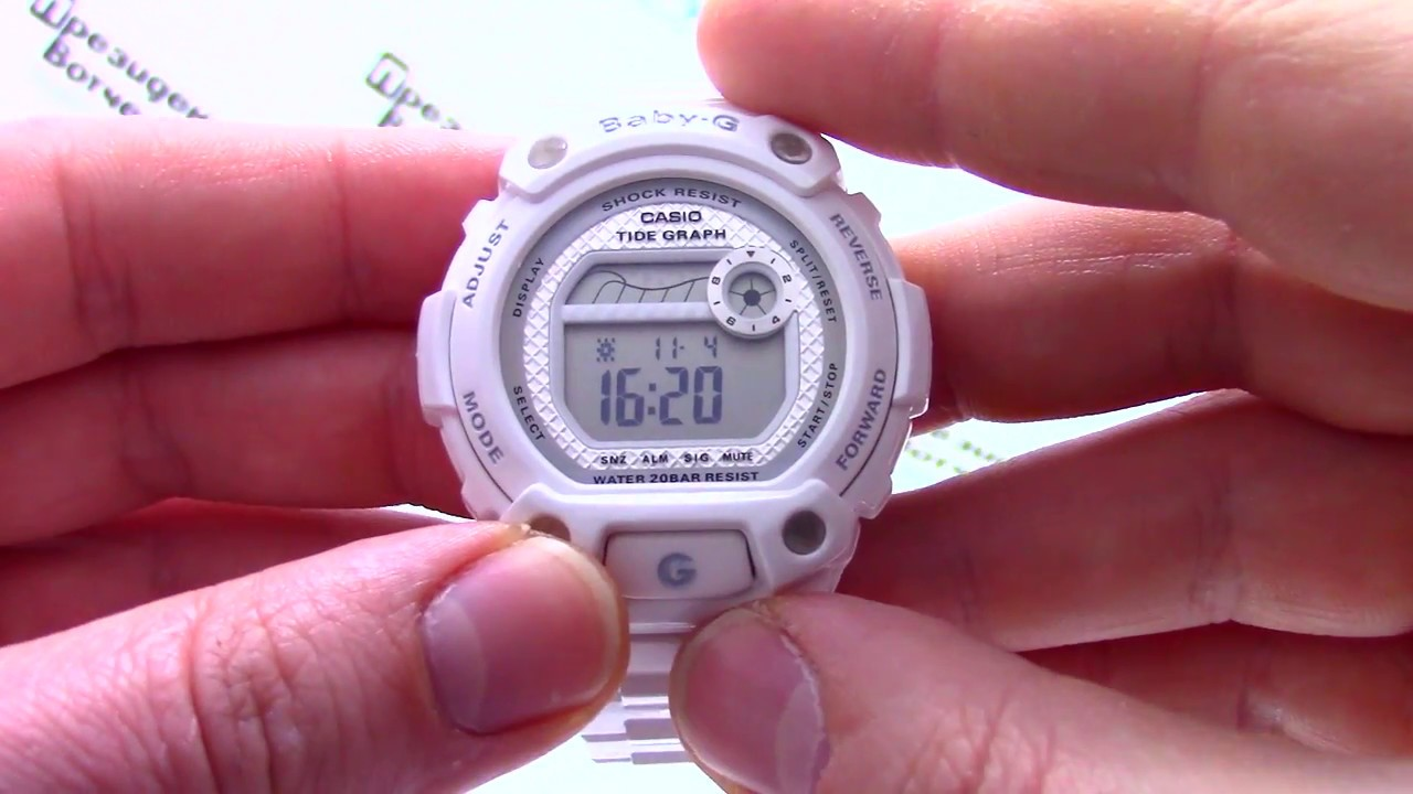 Casio Baby G BA-110-1ADR Watch Overview and Main Features - YouTube