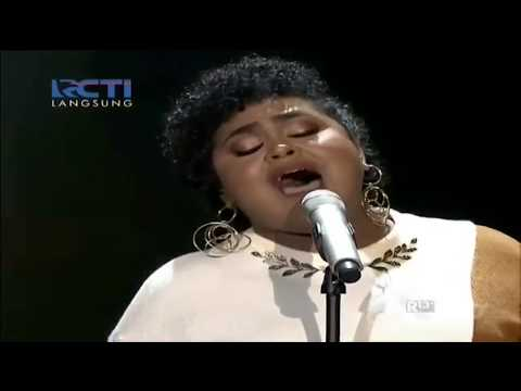 Krisdayanati - Mencintaimu (Joan Cover) on spekta 1 Indonesian Idol 2018