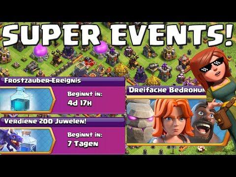 CLASH OF CLANS - SUPER EVENTS! || Let's Play CoC [Deutsch German]