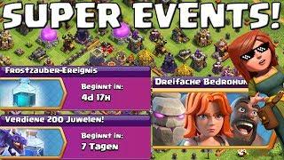 CLASH OF CLANS - SUPER EVENTS! || Let